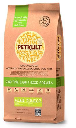PETKULT dog MINI JUNIOR lamb/rice 1,5kg