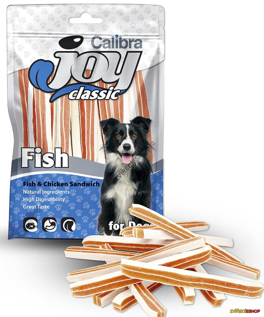 Calibra Joy Dog Classic Fish&Chicken Sandwich 80g