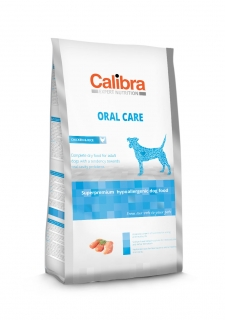 Calibra Dog Expert Nutrition Oral Care / Chicken & Rice 7kg