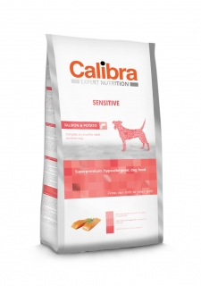 Calibra Dog Expert Nutrition Sensitive / Salmon & Potato 12kg