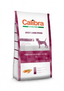 Calibra Grain Free Adult Large Breed / Salmon & Potato 12kg