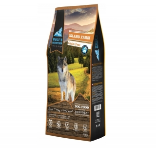 DUOPACK Wolf's Mountain Dog Island Farm Grain Free (2x12,5 kg)