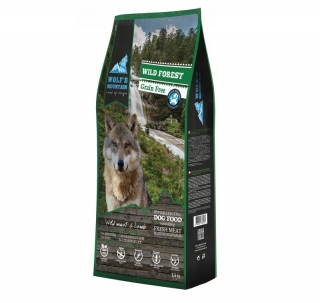DUOPACK Wolf's Mountain Dog Wild Forest Grain Free (2x12,5 kg)