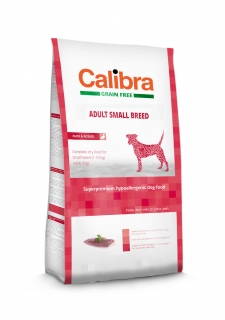 Calibra Grain Free Adult Small Breed / Duck & Potato 2kg