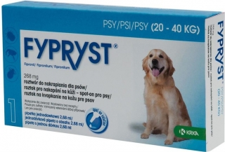 KRKA Fypryst spot on Dog L 20-40kg 1x2,68ml