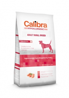 Calibra Dog Hypoallergenic Adult Small Breed / Chicken & Rice 7kg