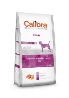 Calibra Dog Expert Nutrition Energy / Chicken & Rice 12kg