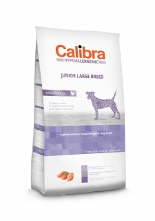 Calibra Dog Hypoallergenic Junior Large Breed / Chicken & Rice 3kg