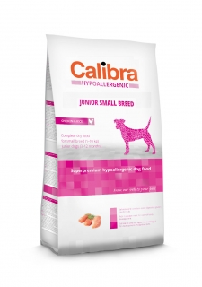 Calibra Dog Hypoallergenic Junior Small Breed / Chicken & Rice 2kg