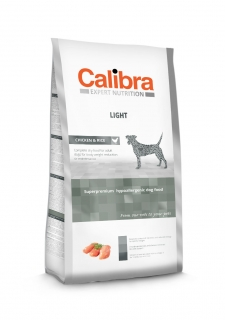 Calibra Dog Expert Nutrition Light / Chicken & Rice 12kg