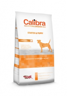Calibra Dog Hypoallergenic Starter & Puppy / Lamb & Rice 3kg