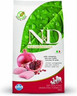 N&D Grain Free DOG Adult Chicken & Pomegranate 2,5kg