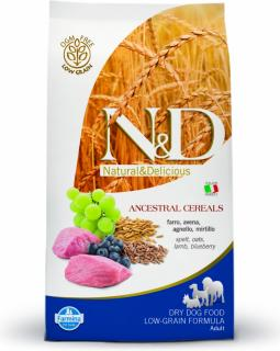 N&D Low Grain DOG Adult Lamb & Blueberry 12kg