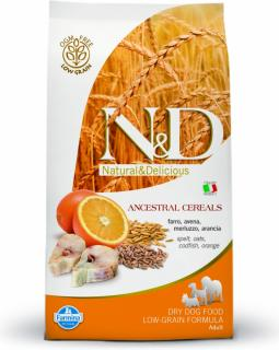 N&D Low Grain DOG Adult Maxi Codfish & Orange 12kg