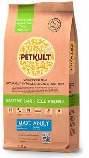 PETKULT dog MAXI ADULT lamb/rice 2kg