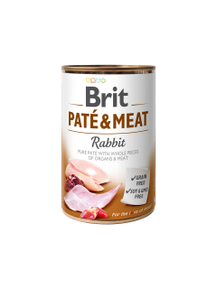 BRIT PATÉ & MEAT - RABBIT 400g