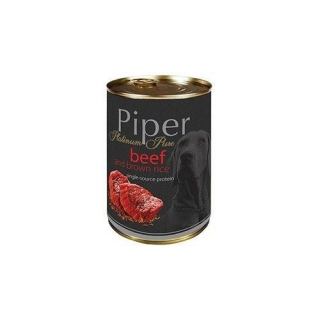 Piper Platinum Pure - Beef with Brown Rice 400g