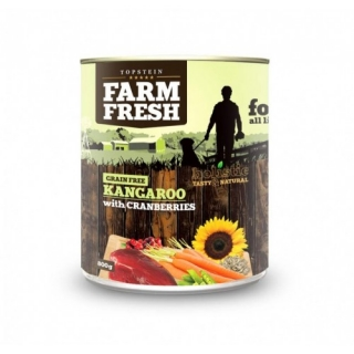 Farm Fresh – Kangaroo with Cranberries 400g