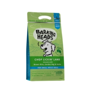 BARKING HEADS Chop Lickin' Lamb (Small Breed) 1,5kg