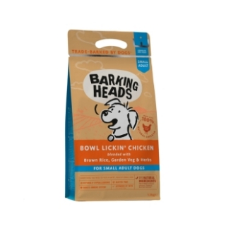 BARKING HEADS Bowl Lickin' Chicken (Small Breed) 1,5kg