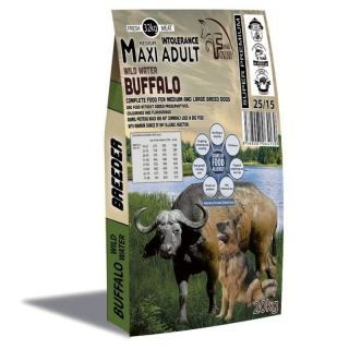 Fresh Farm Buffalo Adult Medium & Maxi Intolerance 20kg+ pamlsky 200g  ZDARMA
